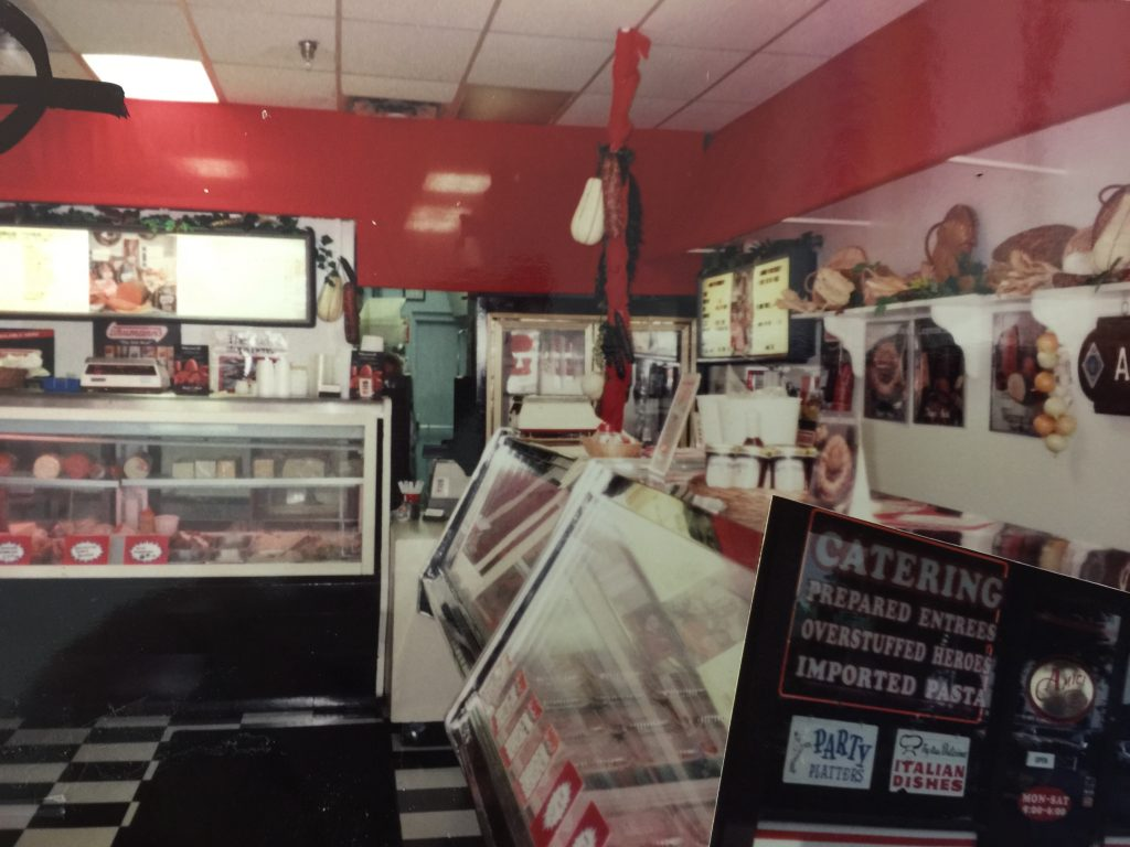 Amici's Butcher Shop from the Past