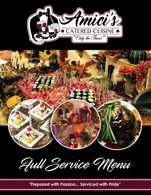 Catering Menu Cover