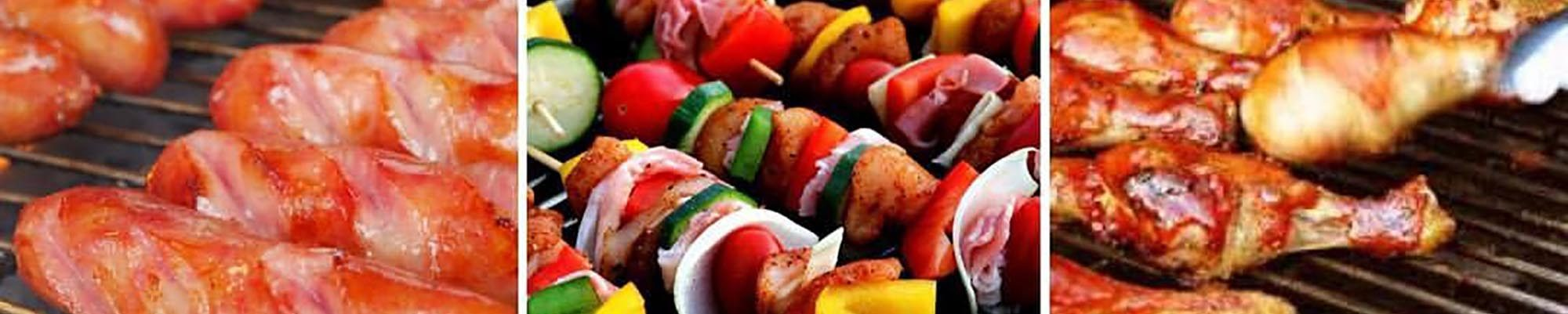 BBQ Chicken, Kebobs and Hot Dogs