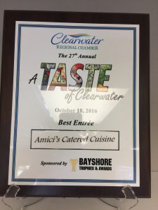 27th Annual Taste of Clearwater - Best Entree