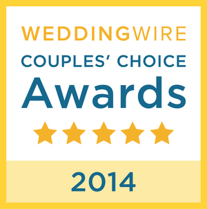 Wedding Wire - Couples Choice Award, 2014
