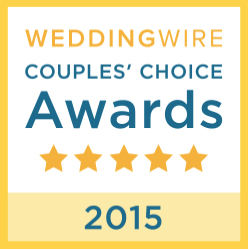 Wedding Wire - Couples Choice Award, 2015