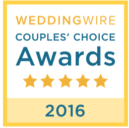 Wedding Wire - Couples Choice Award, 2016