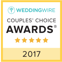Wedding Wire - Couples Choice Award, 2017