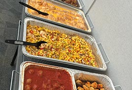 Hot Lunch Buffet